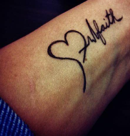 womens lifeline love faith hope tattoo google search