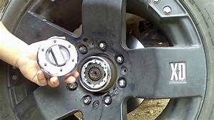 Warn Hub Installation On Ford Superduty