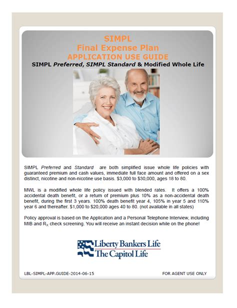 Well, liberty bankers offers two basic whole life products: Liberty Bankers | Your Insurance Group Agents
