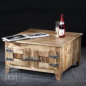Möbel Country Style : couchtisch frigo truhe wohnzimmer tisch massivholz mango country style ebay ~ Sanjose-hotels-ca.com Haus und Dekorationen