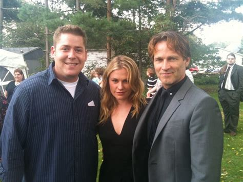 Stephen Moyer And Anna Paquin Attend Ohio Wedding