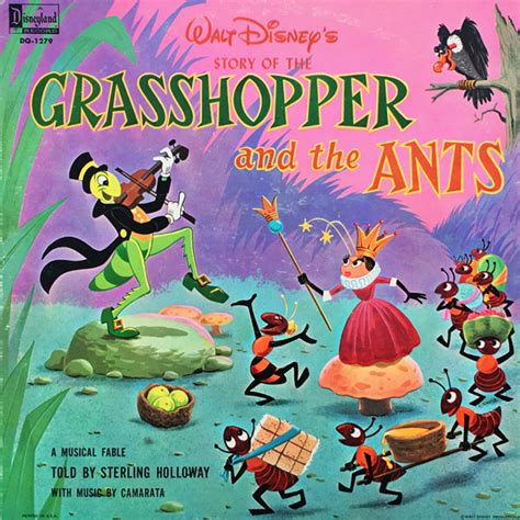 disney s grasshopper and the ants on records