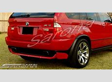 Custom BMW X5 Rear Addon SUVSAVCrossover Rear Addon