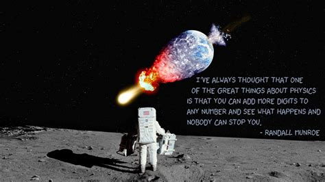 Randall Munroe Astronaut Earth Asteroid Comet Explosion ...