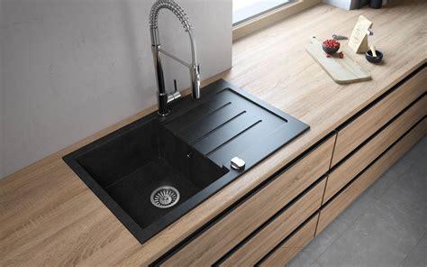 granite kitchen sink reviews zlewozmywak granitowy jednokomorowy z ociekaczem decoro 1 3893