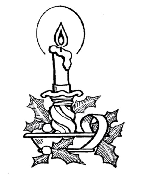 christmas candle images   clip art