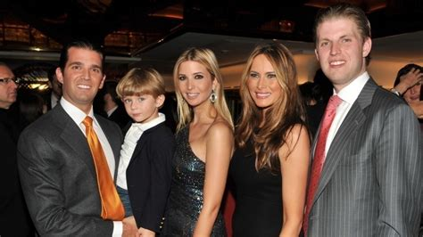 donald wife trump older trumps melania than know children she nickiswift things step barely getty
