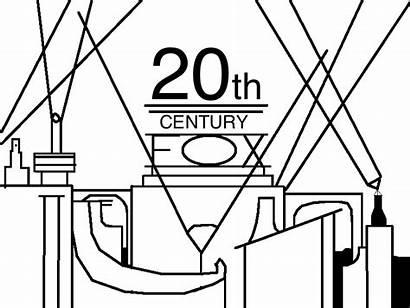 20th Fox Century 1935 Font Deviantart Coloring
