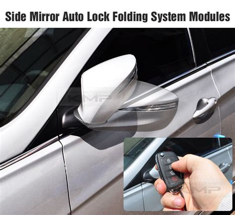 Side Mirror Auto Lock Folding System Connector For Renault
