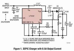 Lt1512  5v To 25vin  5 2vfloat 0 5a Sepic Charger Circuit Collection