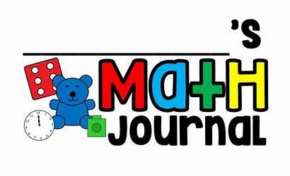 Math Journal Clipart Easy Label Journals Transparent