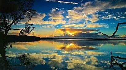 Peaceful Nature Water Sunrise Wallpapers Weneedfun Comfort