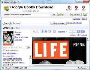 Download Google Books to PDF format