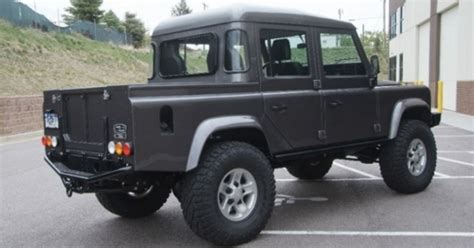 land rover pickup truck land rover planning pickup truck version of new defender