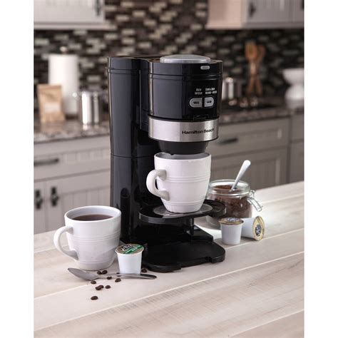 The results may surprise you. Hamilton Beach Single Serve Grind and Brew Coffee Maker | Model# 49989 - Walmart.com