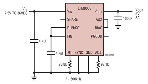 Ltm Step Down Converter Circuit Collection