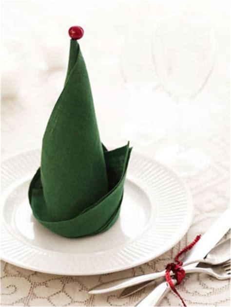 fun ways  fold  napkins  christmas dinner