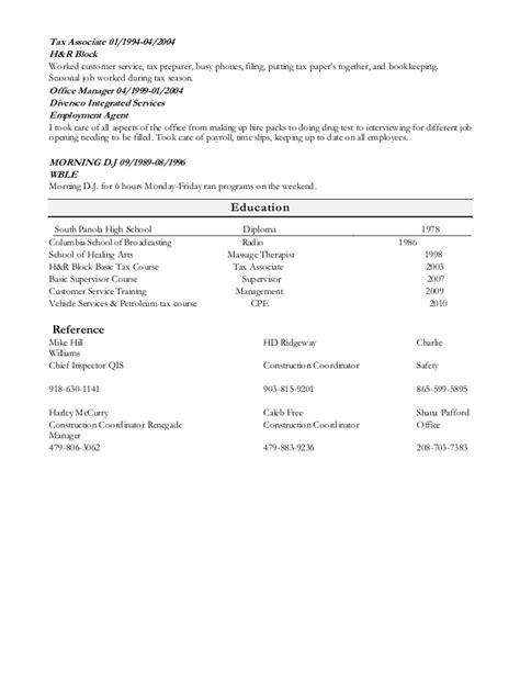 sharlene ware resume
