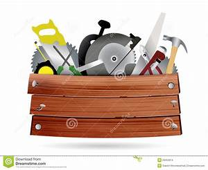 Vector Carpentry, Construction Hardware Tools With Stock