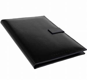 hugo boss a4 writing case briefcase folder conference With hugo boss document case
