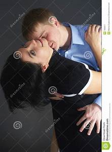 Kiss in neck stock image. Image of kiss, romance, female ...
