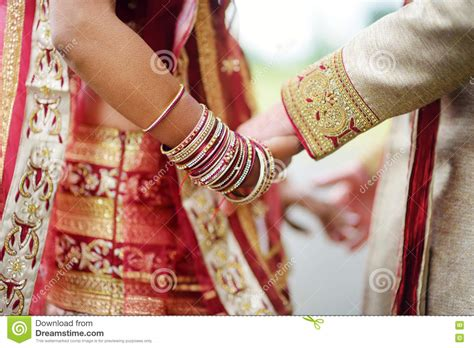 Amazing Hindu Wedding Ceremony. Details Of Traditional