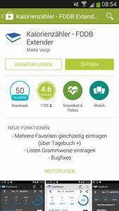Nährwerttabelle Berechnen : kalorienz hler apps im test low carb blog ~ Themetempest.com Abrechnung