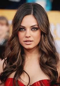 Mila Kunis eye makeup & hair is so gorgeous | Hair, Makeup ...