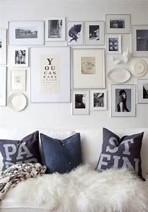 Bilder An Der Wand : fotowand gestalten tipps und kreative ideen ~ Lizthompson.info Haus und Dekorationen