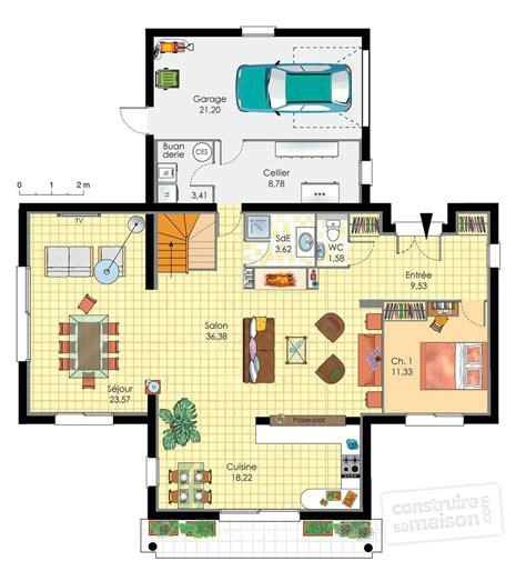 faire un plan de cuisine gratuit maison d 39 architecte dé du plan de maison d