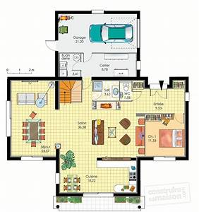 plan de maison moderne d39architecte gratuit With plan maison architecte gratuit