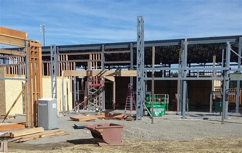students show patience eagerly await remodeled north
