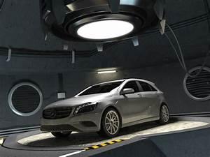 Garage Mercedes 94 : 3d model mercedes class w176 garage ~ Gottalentnigeria.com Avis de Voitures