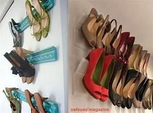 Idée Rangement Chaussures A Faire Soi Meme : id es de rangement pour chaussures ~ Dallasstarsshop.com Idées de Décoration