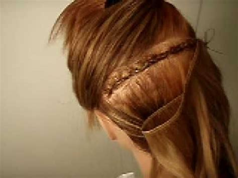 Hairstyles With Tracks Sewed In by How To Sew In A Track For Braided Sew In Extensions If