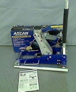 arcan 2 ton aluminum floor arcan alj3t aluminum floor 3 ton capacity on popscreen