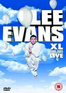Lee Evans - XL Tour Live DVD Zavvi com