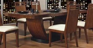 Glass contemporary dining table contemporary dining for Choosing glass dining room tables for small space