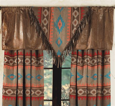 western curtains canyon shadows valance