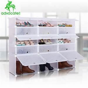 Petit Rangement Chaussures : rangement chaussure plastique ~ Teatrodelosmanantiales.com Idées de Décoration