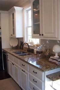 Santa Cecilia Granite - Traditional - kitchen
