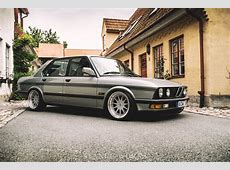 BMW as It's Supposed to Be Hartge 1987 535i autoevolution