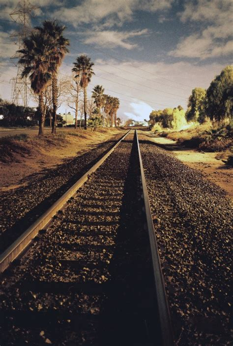Road Train Tracks Landscapes Photography  Gods Country