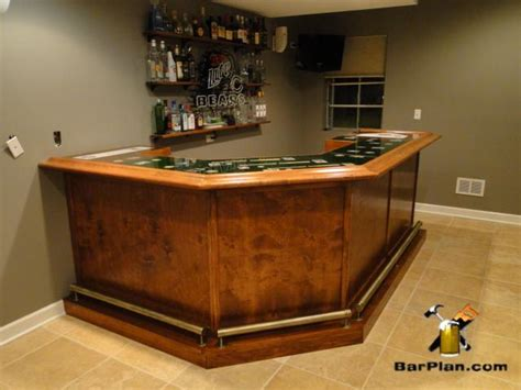 Home Bar Project by Chicago Cubs Home Sports Bar Project Easy Home Bar Plans