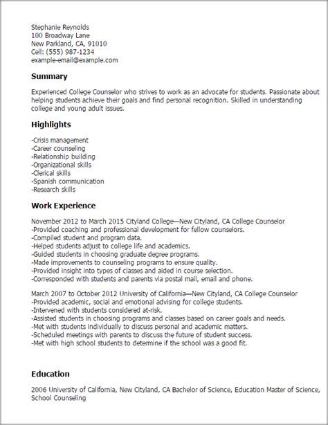 Resume For C Counselor At Ymca by Summer Counselor Resume Sales Counselor Lewesmr