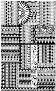 Zentangle Doodle Borders