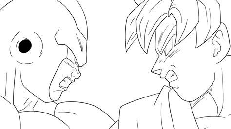 Goku Coloring Pages - Democraciaejustica