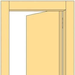Encadrement Porte Couleur Différente Peindre Une Porte Avec Deux Couleurs
