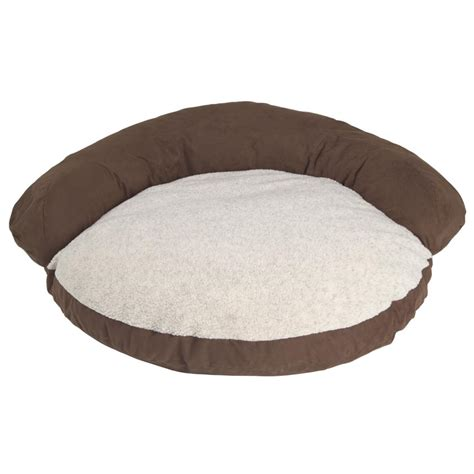 Bolster Bed by Hill Dale Microfiber Pet Bolster Bed 104324 Kennels