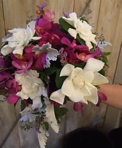 Gardenia Bridal Bouquet | Petalena: Creative Designs for ...
